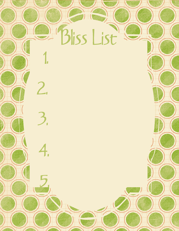 Bliss ListG