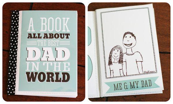 Dadbookcollage