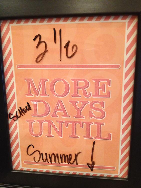 Summer countdowng